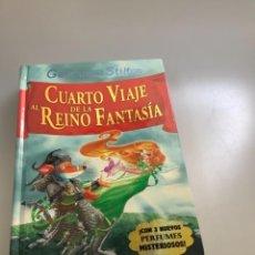 Libros: CUARTO VIAJE AL REINO DE LA FANTASIA-GERONIMO STILTON. Lote 254867555