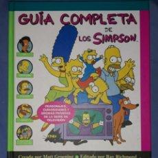 Libros: GUIA COMPLETA DE LOS SIMPSON. Lote 254992820