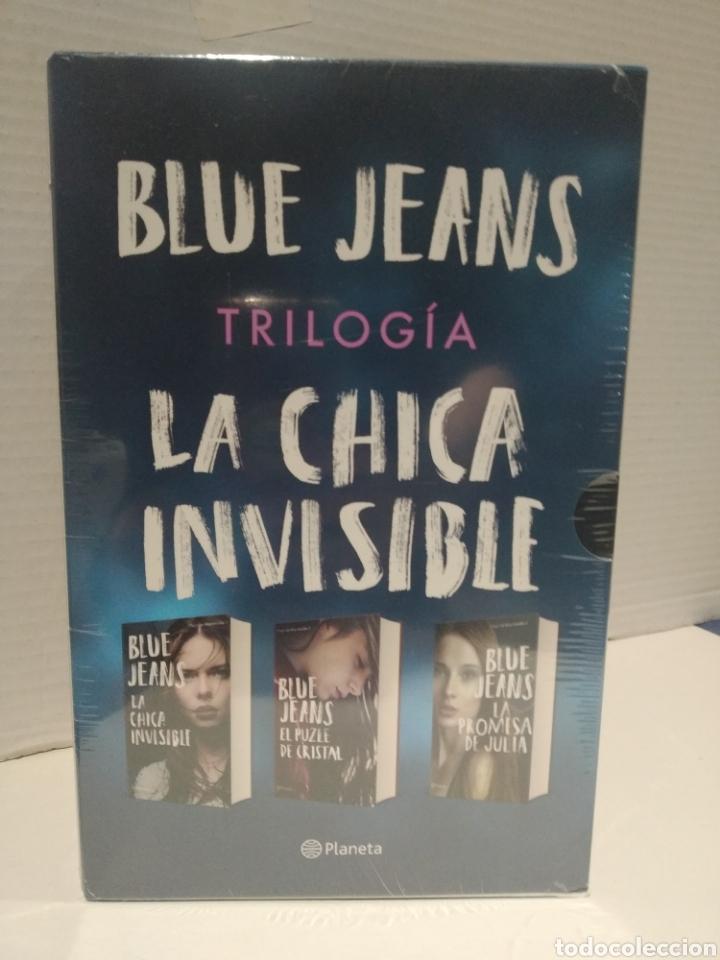 Libros: Estuche trilogía blue jeans La chica invisible + El puzle de cristal + La promesa de Julia - Foto 3 - 257559125
