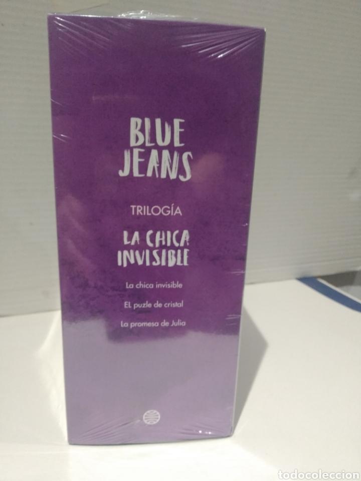 Libros: Estuche trilogía blue jeans La chica invisible + El puzle de cristal + La promesa de Julia - Foto 4 - 257559125