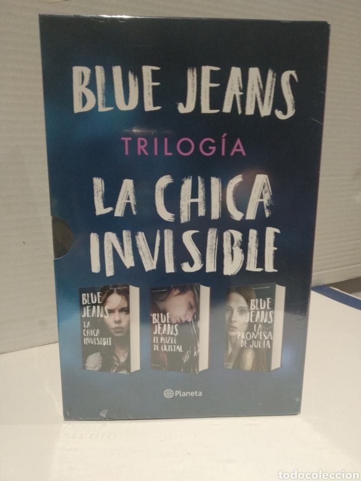 Libros: Estuche trilogía blue jeans La chica invisible + El puzle de cristal + La promesa de Julia - Foto 5 - 257559125