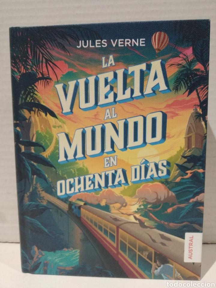 LA VUELTA AL MUNDO EN OCHENTA DÍAS JULIO VERNE (Libros Nuevos - Literatura Infantil y Juvenil - Literatura Juvenil)