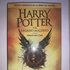 Libros: HARRY POTTER Y EL LEGADO MALDITO. PARTES 1 Y 2. BASADA EN UNA HISTORIA DE J. K. ROWLING.. Lote 258195150