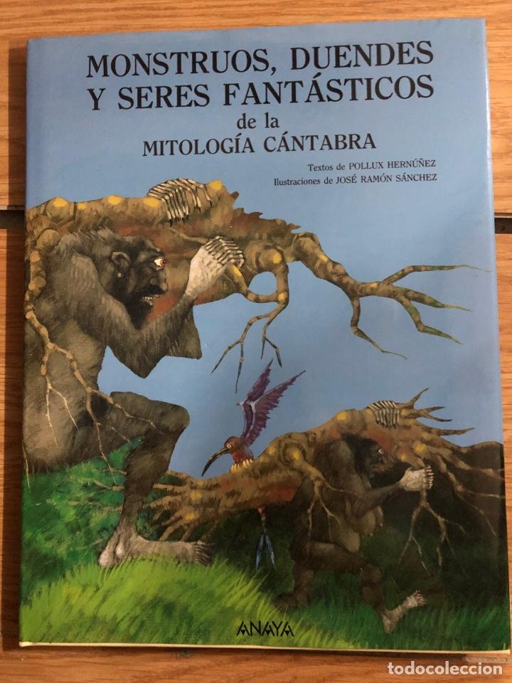 MONSTRUOS DUENDES Y SERES FANTÁSTICOS DE LA MITOLOGÍA CÁNTABRA (Libros Nuevos - Literatura Infantil y Juvenil - Literatura Juvenil)