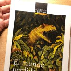 Libros: EL MUNDO PERDIDO ARTHUR CONAN DOYLE ANAYA PACO CLIMENT Y DANI PADRÓN DEDICADO AUTOR. Lote 260868690