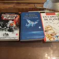 Libros: 3 LIBROS (LITERATURA JUVENIL). Lote 262164500