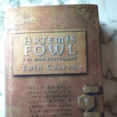 Libros: ARTEMIS FOWL I EL MON SUBTERRANI. Lote 262456065