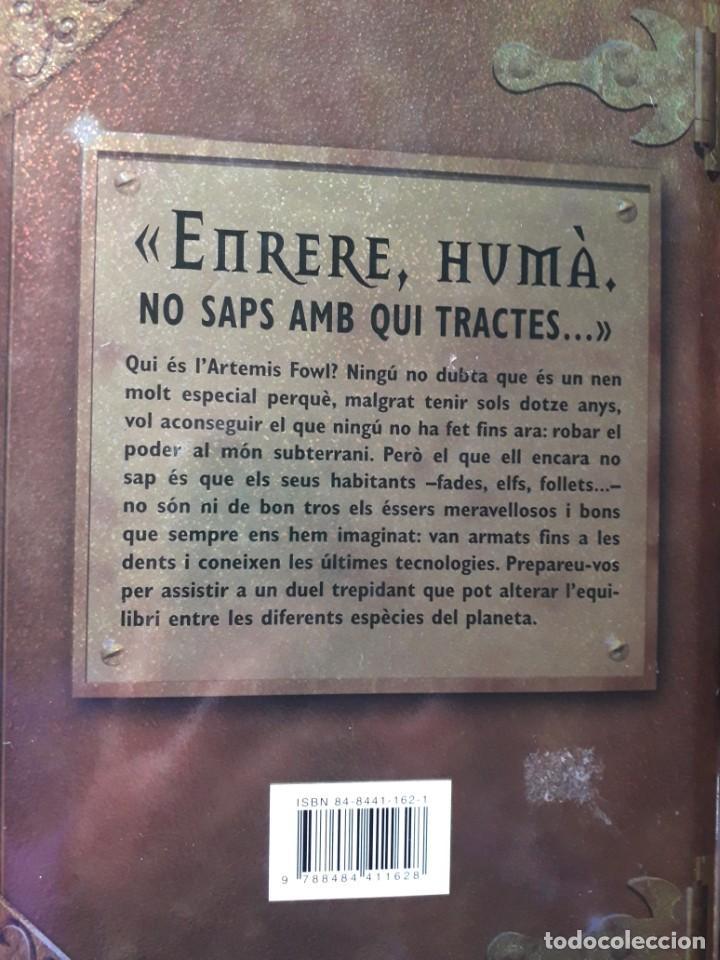 Libros: artemis fowl i el mon subterrani - Foto 2 - 262456065