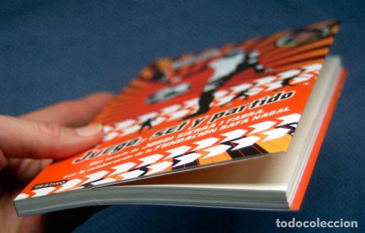 Libros: JUEGO, SET Y PARTIDO-SIERRA I FABRA, JORDI. ED. DESTINO - NUEVO, A ESTRENAR - Foto 3 - 262483010