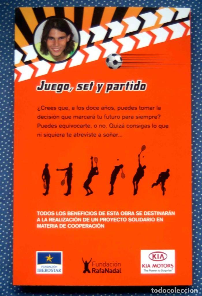 Libros: JUEGO, SET Y PARTIDO-SIERRA I FABRA, JORDI. ED. DESTINO - NUEVO, A ESTRENAR - Foto 6 - 262483010