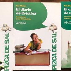 Libros: ANA ALONSO LOTE 3 LIBROS. Lote 262883600