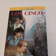 Libros: LIBRO ENID BLYTON LOS CINCO EN EL CERRO DEL CONTRABANDISTA ED. JUVENTUD 2009. Lote 263118475
