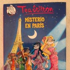 "Libros: LIBRO TEA STILTON ""MISTERIO EN PARIS"". Lote 263153335"