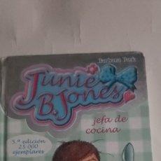 Libri: JUNIE B. JONES JEFA DE COCINA. N° 19 DE BARBARA PARK. Lote 264448934