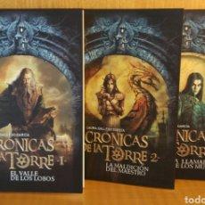 Livres: LAURA GALLEGO. CRÓNICAS DE LA TORRE. 3 VOLS.. Lote 264829844