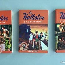 Libros: LOS HOLLISTER, 3 VOLUMENES, NUEVOS A ESTRENAR. LITERATURA JUVENIL DE TODOS LOS TIEMPOS. Lote 266724638