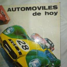 Libros: AUTOMÓVILES DE HOY-- PLAZA JANES--AÑO 1972-- EN EXCELENTE ESTADO DE CONSERVACIÓN--. Lote 268901624
