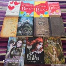 Libros: LOTE LECTURA JUVENIL 11 LIBROS SEMI-NUEVOS. MORGAN RHODES, ELIZABETH MAY, LEÑA VALENTÍ, KATE FALLS... Lote 269201533