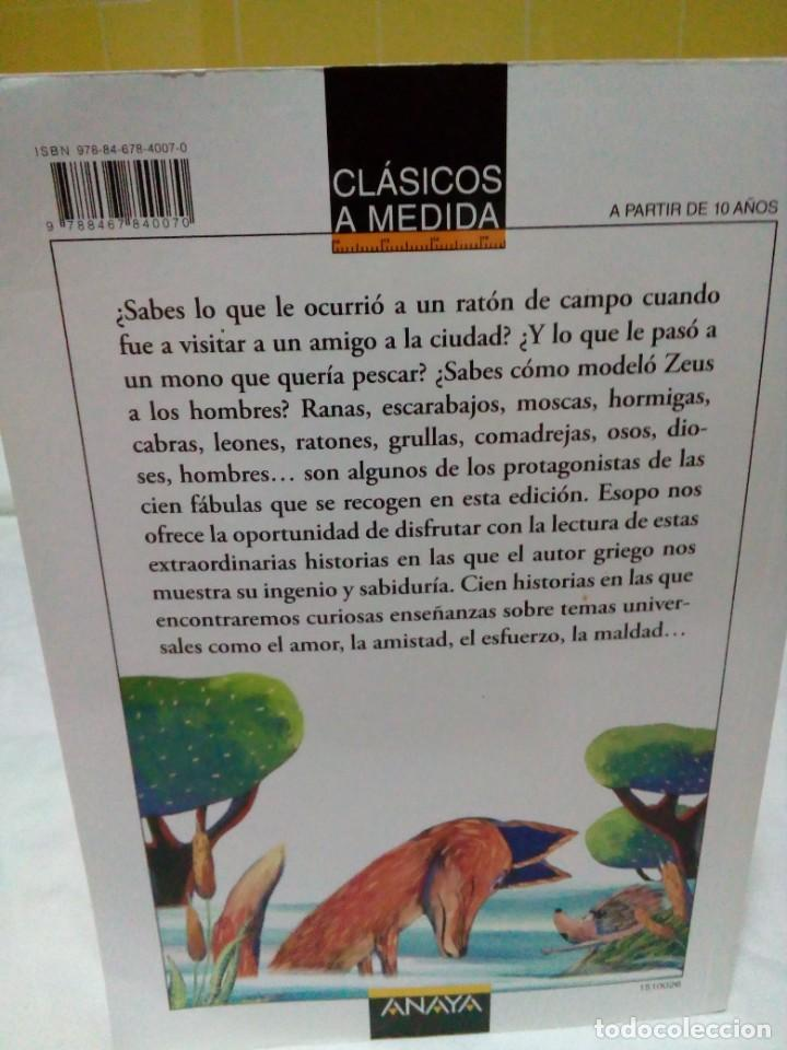 Libros: FABULAS ESOPO - Foto 2 - 269449943