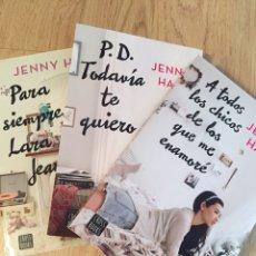 """Libros: TRILOGÍA DE JENNY HAN """"A TODOS LOS CHICOS DE LOS QUE ME ENAMORÉ"""". Lote 269474658"""