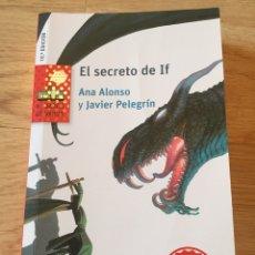 """Libros: """"EL SECRETO DE IF"""". Lote 269481103"""