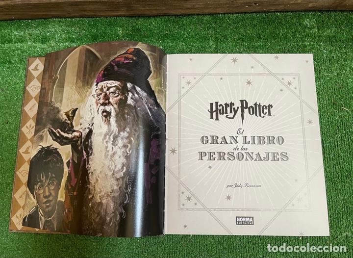 Libros: Harry Potter. El gran libro de los personajes . Norma editorial . Impoluto - Foto 4 - 269731838