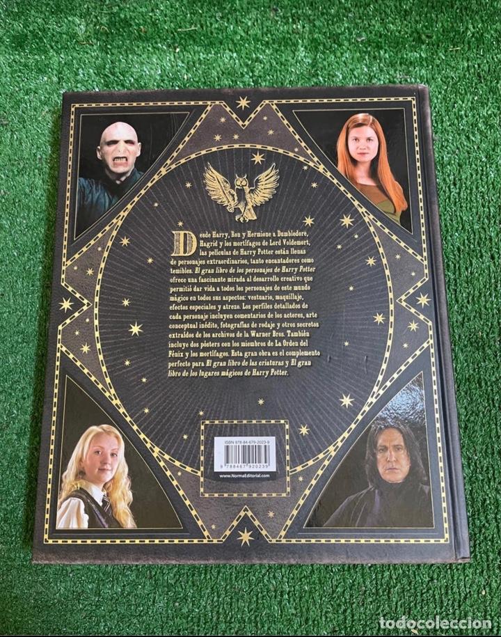 Libros: Harry Potter. El gran libro de los personajes . Norma editorial . Impoluto - Foto 10 - 269731838
