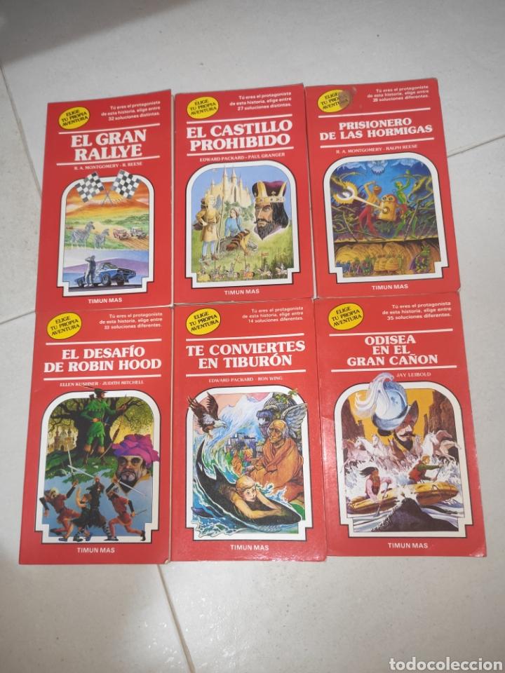 LOTE LIBROS ELIGE TU PROPIA AVENTURA, TIMUN MAS. (Libros Nuevos - Literatura Infantil y Juvenil - Literatura Juvenil)