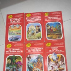 Livros: LOTE LIBROS ELIGE TU PROPIA AVENTURA, TIMUN MAS.. Lote 269741678