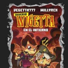 Libros: UNIVERSO WIGETTA EN EL INFIERNO CON PORTADA HOLOGRAFICA COLECCION 4 YOU ESTADO NUEVO. Lote 269766823