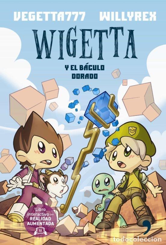 UNIVERSO WIGETTA Y EL BACULO DORADO COLECCION 4 YOU ESTADO NUEVO (Libros Nuevos - Literatura Infantil y Juvenil - Literatura Juvenil)