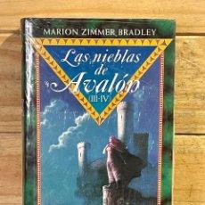 Libros: LAS NIEBLAS DE AVALON (III-IV) PRECINTADO . MARION ZIMMER BRADLEY. Lote 269943343