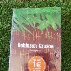 Libros: ROBINSON CRUSOE. EL PAIS AVENTURAS 2004. Lote 270568423