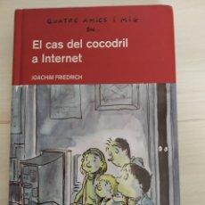 Libros: EL CAS DEL COCODRIL A INTERNET. Lote 270879928