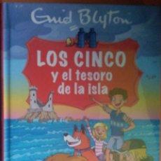 Libros: LOS CINCO Y EL TESORO DE LA ISLA. Lote 270986858