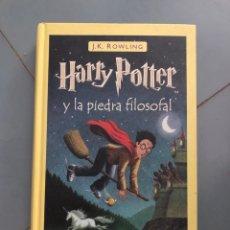 Livros: 2001 HARRY POTTER Y LA PIEDRA FILOSOFAL - J K ROWLING - SALAMANDRA. Lote 274853378