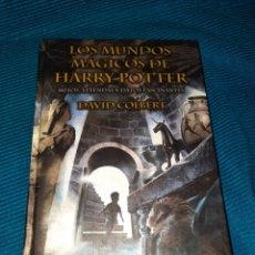 Libros: LOS MUNDOS MÁGICOS DE HARRY POTTER, MITOS, LEYENDAS Y DATOS FASCINANTES. DAVID COLBERT, 1°ED. 2002. Lote 274934918