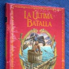Livres: LA ULTIMA BATALLA-EMILIO SALGARI - GRANDES NOVELAS DE AVENTURAS-EDICIÓN DE LUJO SALVAT - NUEVO. Lote 275524438