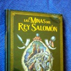 Livres: LAS MINAS DEL REY SALOMON - HENRY RIDER HAGGARD - GRANDES NOVELAS DE AVENTURAS - ED. SALVAT - NUEVO. Lote 275561553