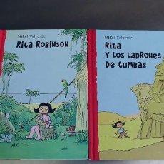 Libros: RITA ROBINSON Y RITA LOS LADRONES DE TUMBAS-LIBROS TAPA DURA-EDITORIAL MCMILLAN IBERIA. Lote 276374068