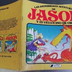 Livros: LAS ASOMBROSAS AVENTURAS DE JASON Y EL VELLOCINO DE ORO AÑO 1982 CLIPER DE LEYENDAS PLAZA Y JANES. Lote 276376058