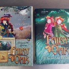 Libros: FAIRY DAK EL SECRETO DE LAS GEMELAS Y FLOX DE LOS COLORES,TAPA DURA CON SOBRECUBIERTA,AÑO 2008-10,. Lote 276387578