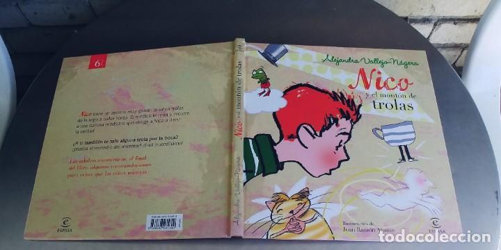 NICO Y EL MONTON DE TROLAS,TAPA DURA,ESPASA,AÑO 2010 (Libros Nuevos - Literatura Infantil y Juvenil - Literatura Juvenil)
