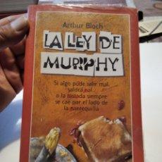 Libros: LIBRO, LA LEY DE MURPHY POR ARTHUR BLOCH. Lote 277422593