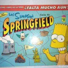 Libros: LOS SIMPSONS EL LIBRO DE SPRINGFIELD. Lote 278617253