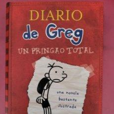 Libros: EL DARIO DE GREG UN PRINGAO TOTAL JEFF KINNEY. Lote 278794508