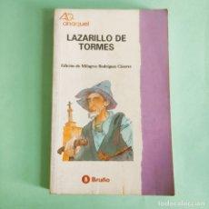 Libros: LAZARILLO DE TORMES. EDITORIAL BRUÑO . NUEVO SIN USO. Lote 279434118