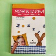 Libros: 245,57 € DE TELEFONO DIARIO DE UNA MADRE DIARIO DE UNA HIJA . I. STILWELL . NUEVO SIN USO. Lote 279436173