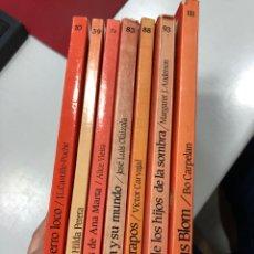 Libri: LOTE LIBROS EL BARCO DE VAPOR SERIE ROJA ALICE VIEIRA BO CARPELAN VICTOR CARVAJAL MARGARET ANDERSON. Lote 280328493
