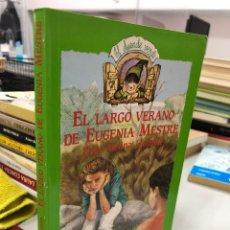 Libros: EL LARGO VERANO DE EUGENIA MESTRE - PILAR MOLINA - EL DUENDE VERDE. Lote 280332073